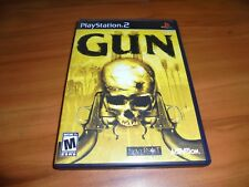 Gun (Sony PlayStation 2, 2005) Complete PS2