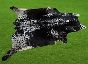 """100% New Cowhide Rugs Area Cow Skin Leather (52"""" x 52"""") Cow hide SA-7325"""