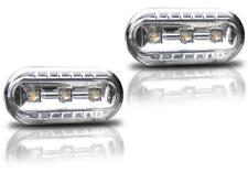 INDICADORES LATERALES LED CROMO M1 CRISTAL VW GOLF 3 4 PASSAT B4 35i 3B 3B2 3B2