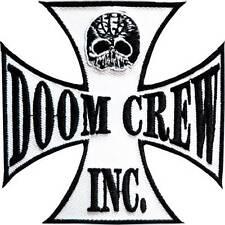 """Black Label Society Doom Crew Embroidered Big Back Jacket Vest Patch 7.2""""/18cm"""