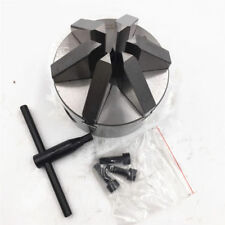 100mm 6 Jaw 4'' Lathe Chuck Self-Centering for CNC Drilling Milling Machine New