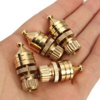 8mm 4 Stück Kupfer Lautsprecher Stachel Ständer Fuß Pads Audio-Verstärker Basis
