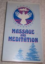 Massage and Meditation Hands in Harmony VHS Video Judy Phillips