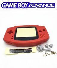 Coque de remplacement rouge neuve pour Nintendo Game Boy advance Gameboy GBA