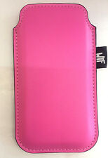 Pouch Sleeve Case For Apple iPhone 5, 5s, SE- One side Pink other side Grey