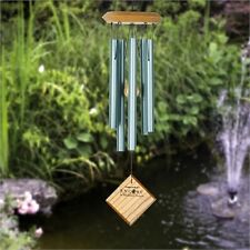 """Woodstock CHIMES OF MARS VERDIGRIS WIND CHIMES, Total Length Top to Bottom 17"""""""