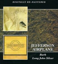 Jefferson Airplane Bark/Long John Silver 2-CD NEW SEALED Digitally Remastered