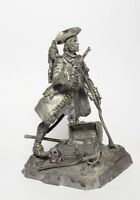 Tin soldier, figure. Pirate John Silver 54 mm