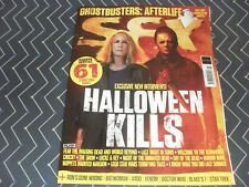 SFX magazine #345 Nov 2021 Halloween Kills, Ghostbusters Afterlife, Doctor Who