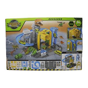 Dinosaur World Garage With Dinosaur & Cars Boys Kids Toy Gift Present 3 Years+