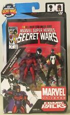 Marvel Universe Comic Packs BLACK COSTUME SPIDER-MAN & MANGETO Brand New