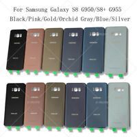 OEM Back Battery Case Glass Cover Replacement  For Samsung Galaxy S8 S8+ Plus US