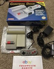 Nintendo NES Control Deck TOP LOADING Console Set Rare NES-101 Loader w/ Box