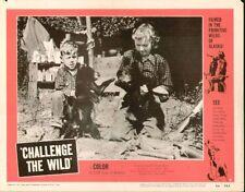 Challenge the Wild 11x14 Lobby Card #6