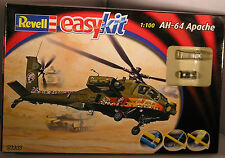 REVELL easyKit 06646 AH-64 APACHE 1:100 EASY snap-together Livello 2 NUOVO INSCATOLATO