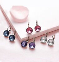 Baby Mini Bella Clear Crystal Earrings Made with SWAROVSKI® Crystals