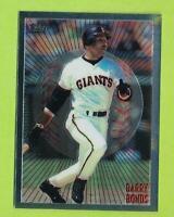 1998 Topps Mystery Finest - Barry Bonds (M19)  San Francisco Giants