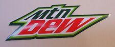 "Mountain Dew Sticker 2.5"" x 8"""