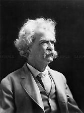 VINTAGE PHOTOGRAPHY PORTRAIT SAM CLEMENS MARK TWAIN AUTHOR POSTER ART LV11423