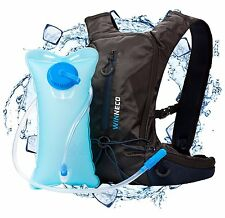 Hydration Pack for Running, Hiking, Biking - 50 oz / 1.5L Backpack Water Bladder