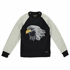 FINGER IN THE NOSE | HANK BLACK EAGLE | BOYS SWEATER | XL | AGE 8-9 |134CM