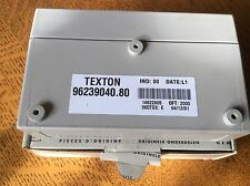PEUGEOT 106 MKl ll 306 406 ALARM ECU  TEXTON 9623904080 668077 GENUINE NEW