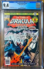 Tomb of Dracula #50 🔥 CGC 9.4 🔥 White Pgs Silver Surfer & Blade Appearance🔥!!