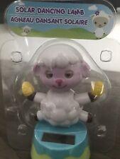 Solar Powered Dancing Toy Bobblehead Easter Lamb