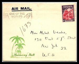 GP GOLDPATH: BERMUDA COVER AIR MAIL _CV588_P16
