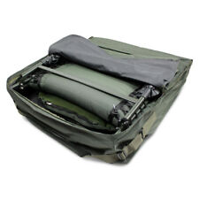 ABODE® Deluxe Padded Carp Fishing Chair Bedchair Bed Carry Bag