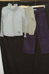 VERTBAUDET/SERGENT MAJOR/ABSORBA lot 3 pièces pantalon+haut+maillot T 6/7 ans