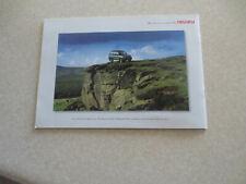 1990s Isuzu Trooper accessories advertising booklet - UK