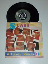 """SLADE - All Join Hands - 1984 UK 7"""" Juke Box vinyl single"""