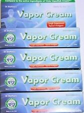 GREASELESS VAPOR CREAM COUGH SUPPRESSANT LOT OF 4 BY DR. SHEFFIELD'S 1 OZ EACH