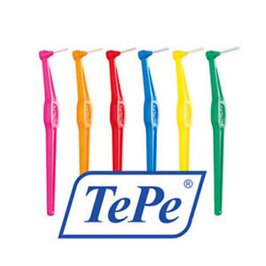 Tepe Angle Interdental Brushes all Colours/Sizes Pack of 6,12 and 18 brushes