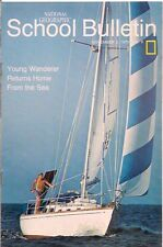 national geographic-SCHOOL BULLETIN-nov 2,1970-YOUNG WANDERER RETURNS HOME......