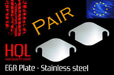 Seat EGR BLANKING PLATE *PAIR* Toledo Leon Ibiza Altea 1.2 1.4 1.9 2.0 2.5 TDI