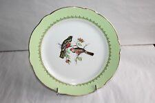 """Un plat de service rond  vintage faïence Lunéville KG décor """" oiseaux """" 29 cm"""