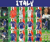 PANINI ADRENALYN XL UEFA EURO 2020 ITALY FULL 18 CARD TEAM SET - EUROS