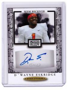 2021 SAGE D'Wayne Eskridge Rookie Auto Autograph Seahawks Card !!!
