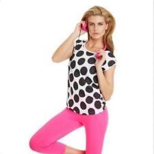 On Sale Lorna Jane Womens Short Sleeve SPOT T-shirt Oversized Tee Size S