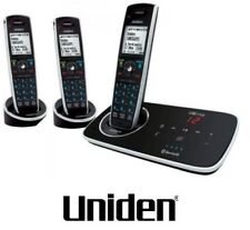 UNIDEN ELITE 9135+2  3 HANDSET CORDLESS TELEPHONE AND ANSWER MACHINE+NBN READY