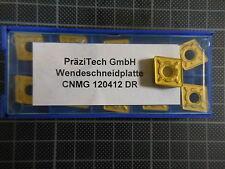 Präzitech 10 x CNMG 120412 DR; NEU & OVP; NEW