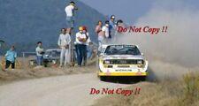 Walter Rohrl Audi Quattro S1 Winner San Remo Rally 1985 Photograph 3