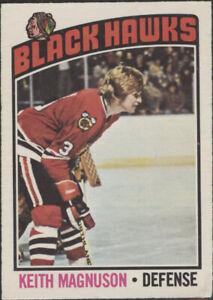 1976/77 OPC - Keith Magnuson (Chicago Black Hawks) #125