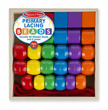 Melissa and Doug Primary Lacing Beads #0544 #544 new
