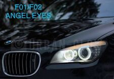 BMW 7 Series F01 F02 CREE LED XENON ICE WHITE Angel Eyes Halo Rings Light 80W H8