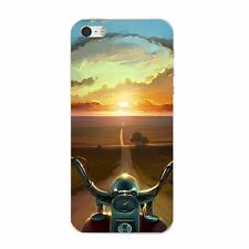 Case For iPhone 5S 5C 6 6S 7 Plus Soft TPU Mobile Phone Back Cover Skin Car Tank