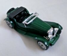 MATCHBOX MOY Y-1 1936 JAGUAR SS100 CAR IN GREEN OPENED 1:38 101.