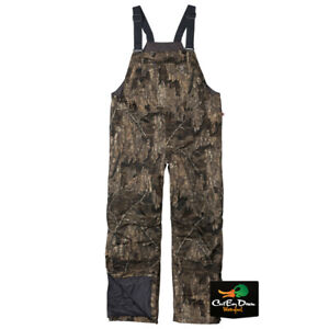 NEW BROWNING WICKED WING INSULATED BIBS - REALTEE TIMBER CAMO -